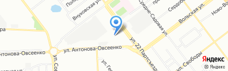 Азон на карте Самары