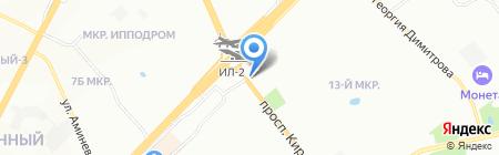 Гномик на карте Самары