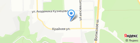Детский сад №67 на карте Самары
