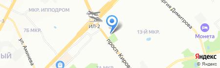 Волана+ на карте Самары