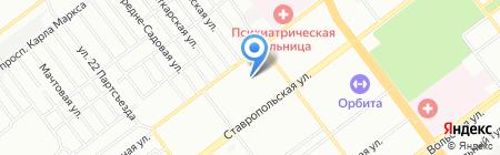 АБРИС СЕРВИС на карте Самары