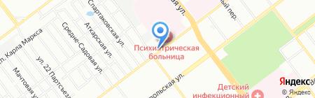Вега на карте Самары