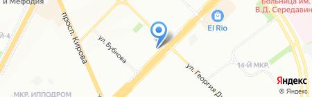 Приволжский ПЖРТ на карте Самары