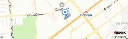 Детский сад №294 на карте Самары