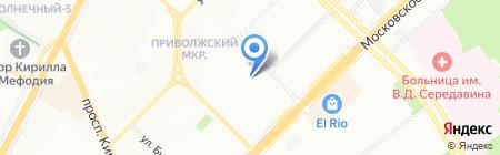 Средняя общеобразовательная школа №85 на карте Самары