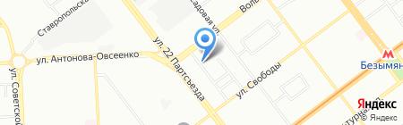 Общежитие МП ЭСО Муниципальное предприятие по эксплуатации на карте Самары