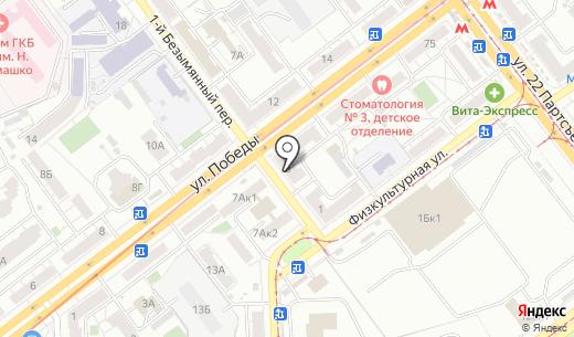 QIWI. Схема проезда в Самаре