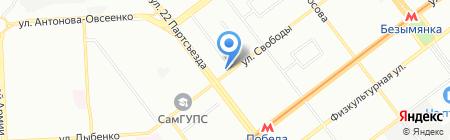 Любимый магазин на карте Самары