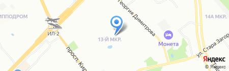 Средняя общеобразовательная школа №157 на карте Самары