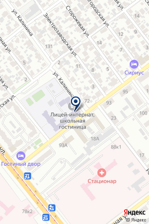 САМАРСКАЯ ОБЛАСТНАЯ ФИЗИКО-МАТЕМАТИЧЕСКАЯ ШКОЛА-ИНТЕРНАТ на карте Самары