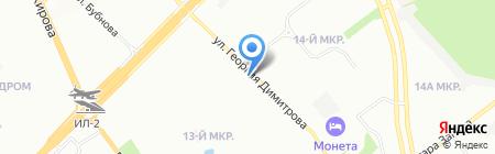 Авитек на карте Самары