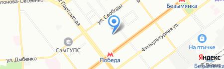ГУФСИН России по Самарской области на карте Самары