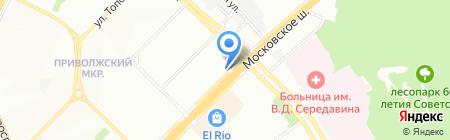 Алия-Фарм на карте Самары