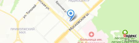 Промкомплект на карте Самары