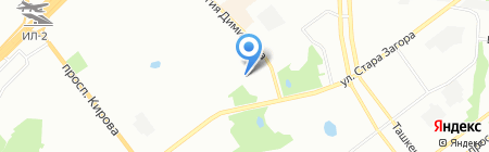 Автостиль на карте Самары