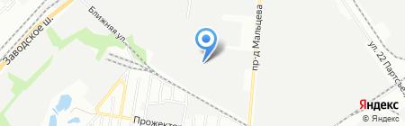 Волга-С на карте Самары