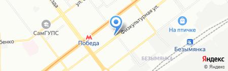 Тортуга на карте Самары