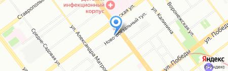 Агат на карте Самары