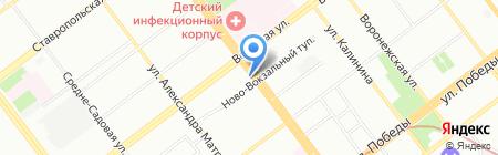 Атон на карте Самары
