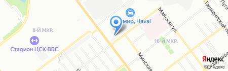 РАКУРС-А на карте Самары