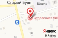 Схема проезда до компании Красноярская центральная районная больница в Старом Буяне