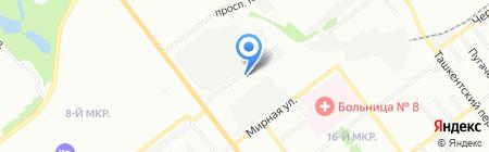 Автодар на карте Самары