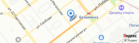 Апекс-Волга на карте Самары