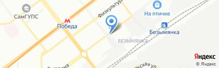 Новатор-Х на карте Самары