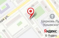 Схема проезда до компании Барс-7 в Серпухове