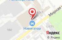 Схема проезда до компании АВИАКОР-Металлоконструкции в Самаре