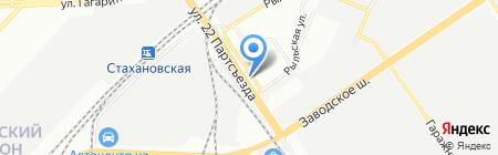 Мост-люкс на карте Самары