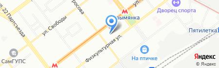 Архивный отдел на карте Самары