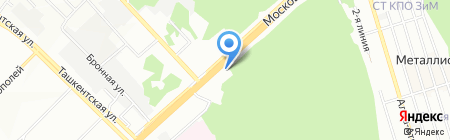 КРОНОС-САМАРА на карте Самары