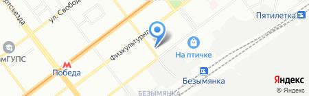 Автошкола на карте Самары