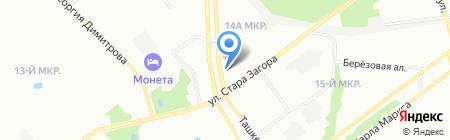 Пивная Крюгера на карте Самары