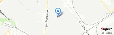 Реал-Поволжье на карте Самары