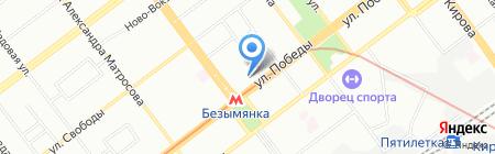Glance на карте Самары