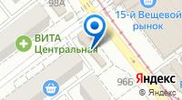 Компания Быстро почта на карте