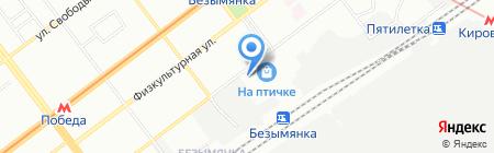 Русские Двери на карте Самары