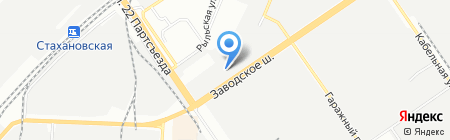 Гараж на карте Самары