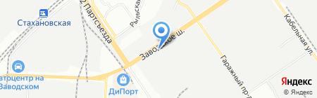 Агрегат на карте Самары
