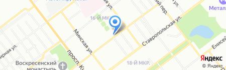 Колобок на карте Самары
