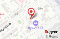Схема проезда до компании Прогресс-Медиа в Самаре