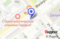 Схема проезда до компании ПТФ МАНУФАКТУРА в Самаре
