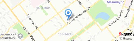 Виджей на карте Самары