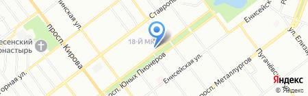 Русский Медведь на карте Самары
