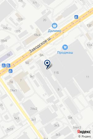 МАГАЗИН КАНЦТОВАРОВ КВАНТОР-КАНЦ на карте Самары