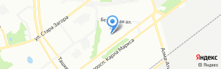 Детский сад №136 на карте Самары