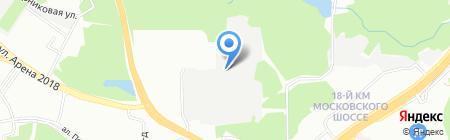 Аккорд на карте Самары