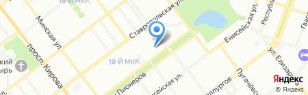 Волга Сервис Безопасность на карте Самары